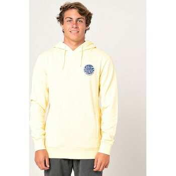 Rip Curl Os Hooded Pop Over Print Fleece Mens