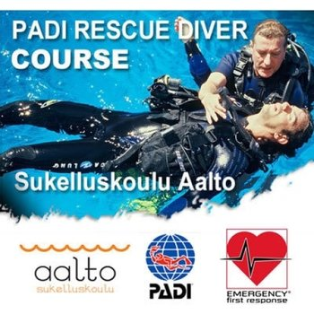PADI Rescue Diver Superpaketti 3in1