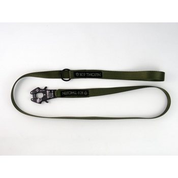 K9 Thorn Leash w/Kong - Olive